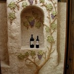 Wine Cellar Carving Z
